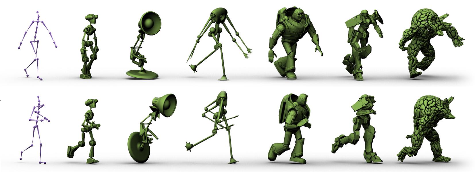 ลำดับการทำงาน 3D Animation
