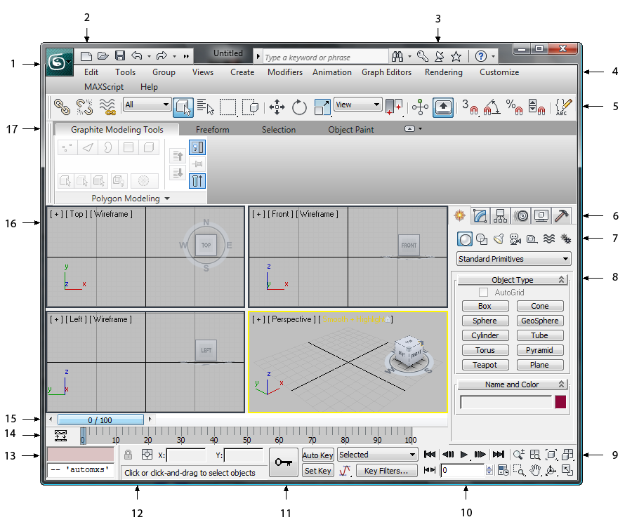 The 3ds Max Window