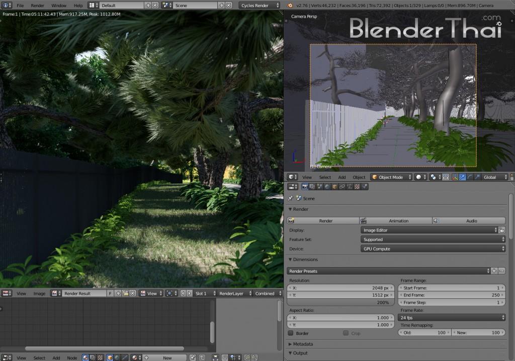 Blender3d Exterior Rendering   View01