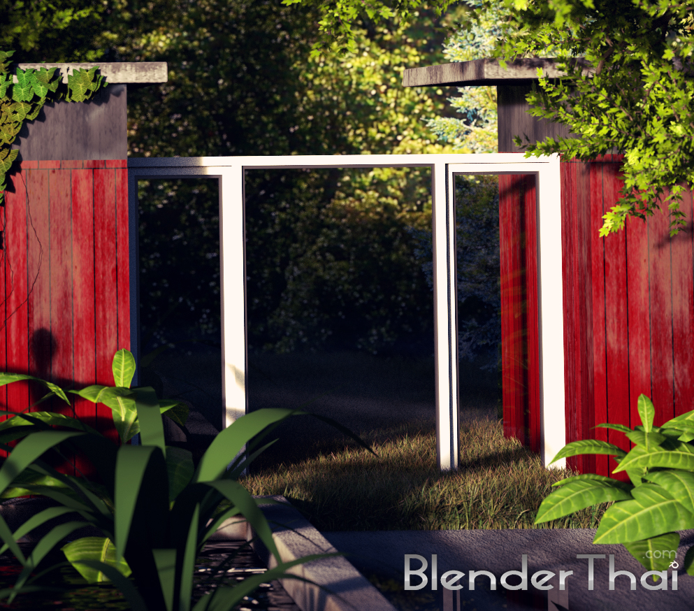 blender3d Render exteriors detail01