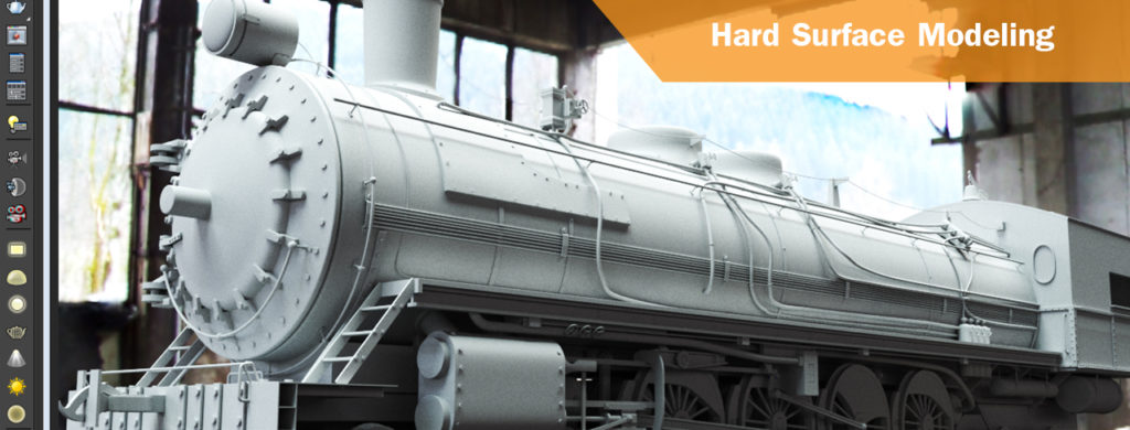Hard surface modeling - 3ds Max